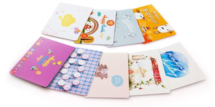 открытки без сгибов